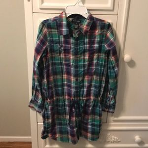 Ralph Lauren plaid dress - size 12